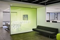 shared description, double click to edit. Industrial Office Design, Office Space Design, Workspace Design, Office Interior Design, Office Designs, Corporate Interiors, Office Interiors, Office Graphics, Window Graphics