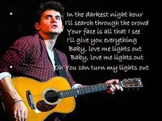 John Mayer-XO Lyrics ~ I missed this voice / great face btw ^