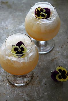 Apricot Coconut Prosseco Punch