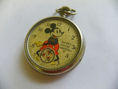 old Mickey Mouse pocket watch ****