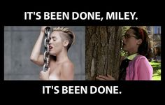 """Mary Katherine Gallagher did it first: 