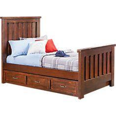 Big boy room- Carters Kids Collection Lost Creek Espresso 5 Pc Twin Slat Bedroom