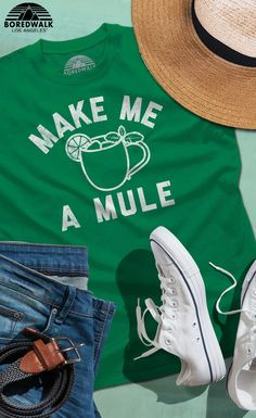 1db8f7fe48d Men s Make Me a Moscow Mule T-Shirt - Funny Drinking Shirt