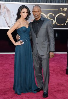 Academy Award winner Jamie Foxx, WITH DAUGHTER