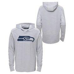 Activewear Sweatshirt NFL Seattle Seahawks Team Color S, Boy's