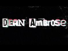 Dean Ambrose Entrance Video [New] Wwe Theme Songs, All Love Songs, Renee Young Wwe, Kelly Carlson, Wwe Raw And Smackdown, Wwe Dean Ambrose, Best Wrestlers, Nxt Divas, Wwe Roman Reigns