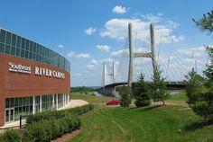 River Campus & Emerson Bridge in Cape Girardeau, Missouri courtesy of Eridony, via Flickr