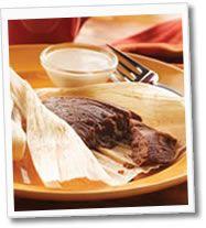 Tamales de avena y chocolate