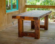 RealSimpleWood by RealSimpleWood on Etsy Rustic Wood Bench, Rustic Patio, Rustic Chair, Barn Wood, Cedar Furniture, Rustic Outdoor Furniture, Outdoor Dining, Antique Furniture, Furniture Movers