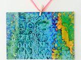 Liebevoll von mir gestaltete farbenfrohe gute Laune Postkarte in pink-orange Tönen.   Maße: DIN A 6 (14,8 cm x 10,4 cm). Gedruckt auf 0,4 mm starkem Postkartenkarton (260g-Papier)