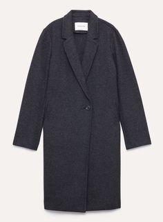 Taking its cues from menswear tailoring, the Stedman is cut from a warm, double-faced wool-cashmere blend sourced from a fine Italian mill. The silhouette is specially constructed to showcase the fabric's fluid drape. Cashmere, Menswear, Coat, Womens Fashion, Fabric, Sweaters, Tejido, Cashmere Wool, Sewing Coat