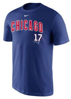 Chicago Cubs Signature T-shirts by Nike