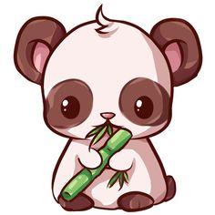 Image result for panda kawaii