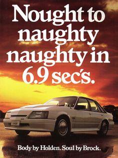 1985 VK Holden Commodore SS Group A 5 Litre Peter Brock Aussie Original Magazine Advertisement Big Girl Toys, Girls Toys, Holden Australia, Aussie Muscle Cars, Holden Commodore, Australian Cars, Vintage Advertisements, Cool Cars, Super Cars