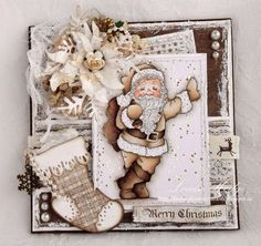 Passion Creations: Cool Santa Vintage style