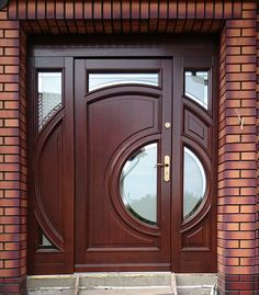 Nice style period front doors