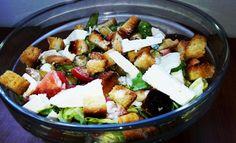 Salata Caesar Feta, Good Food, Dairy, Cheese, Healthy Food, Yummy Food