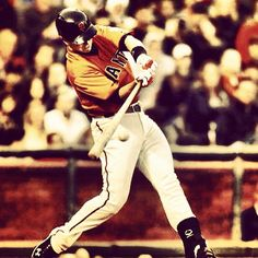 Buster Posey has one of the sweetest swings in MLB #sfgiants