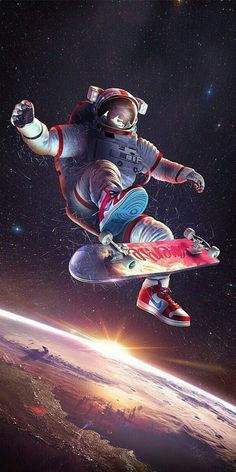 44 ideas for space art wallpaper iphone Space Artwork, Wallpaper Space, Galaxy Wallpaper, Lock Screen Wallpaper, Cool Wallpaper, Mobile Wallpaper, Astronaut Wallpaper, Space Illustration, Creative Illustration