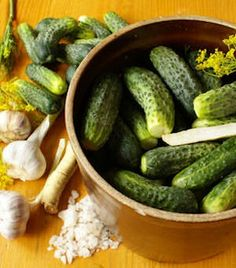 15 Homemade Pickle Recipes - Click image to find more Gardening Pinterest pins