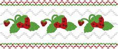 Strawberries - Machine Smocking by Elizabeth's Embroideries www.elizabethsembroideries.com