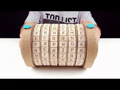 DIY Amazing Cardboard Coded Lock Cryptex with combination lock. It was like a puzzle coded lock that is the most interesting gift for your kids. Easy Crafts For Teens, Diy For Kids, Dyi Crafts, Homemade Crafts, Fun Games, Games For Kids, Diy Birthday Gifts For Sister, Cardboard Toys, Create And Craft
