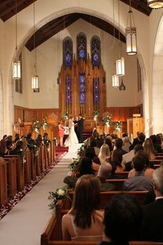 Our wedding church was on One Tree Hill:)