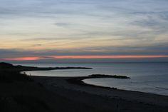 Liseleje Beach, favourite spot for walkies.