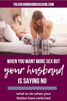 What do you do when youve been refusing sex, but now that youre trying to make it better, he doesnt want it? Heres some down-to-earth advice: Sexless Marriage, Intimacy In Marriage, Marriage Romance, Best Marriage Advice, Healthy Marriage, Saving Your Marriage, Save My Marriage, Marriage Relationship, Healthy Relationships