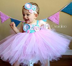 First Birthday Tutu Dress Hot Pink Tutu Dress Hot Pink by Guavaloo, $75.00