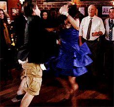 She's amazing and awkool. Watch Brooklyn Nine Nine, Charles Boyle, Jake And Amy, Andy Samberg, Bridget Jones, Shes Amazing, Dirty Dancing, The Nines, What Is Like