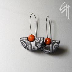https://flic.kr/p/dn19e9 | Polymer clay jewellery | earrings