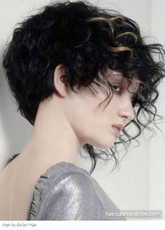 punk curly hair - Google Search