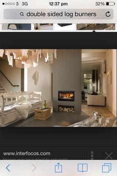 Fenton Fires are a long established Company in Greystones suppying & fitting Woodburning Ecodesign Stoves, Gas & Electric Fires, Outdoor Stoves & Fireplaces Log Burner Living Room, Open Plan Kitchen Living Room, Home Living Room, Living Room Designs, Double Sided Log Burner, Double Sided Fireplace, Wood Burning Fireplace Inserts, Log Burner Fireplace, Floating Fireplace
