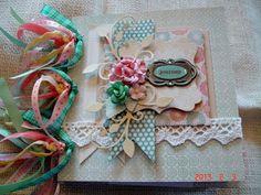 Scrapbooking by Phyllis: Journey Premade Chipboard Scrapbook album