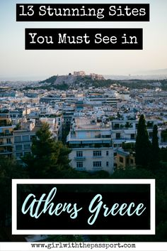 is a vibrant, historic that has a ton of things to see and do while on Check out this pin to help you plan your Athens Greece and out what you will put on your Athens bucket list. Places In Europe, Europe Destinations, Europe Travel Tips, Places To Visit, European Travel, Mykonos, Santorini, Greece Vacation, Greece Travel