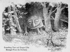 Walt McDougall - The Salt Lake herald., June 26, 1904, Something Vast and Dragon-Like Emerged From the Darkness