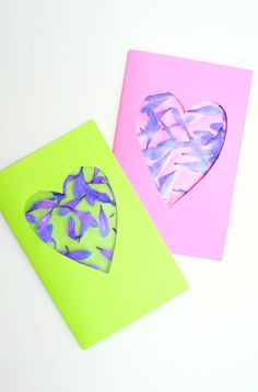 Kid Made Cards~ Add an encouraging message to your sponsored child