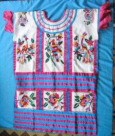 Huautla Huipil    Huipil from Mazatec area of Huautla de Jimenez, Oaxaca.