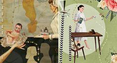 Heather Landis' Retro Collages