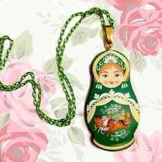 Beloved ethnic symbol Matryoshka Russian Doll Folk Colorful