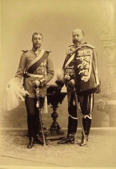 Father and son : Edward V11 and George V