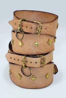 CrossmanCrafts: Dog collars
