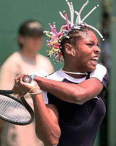 Serena Williams. Preparation. #Focus
