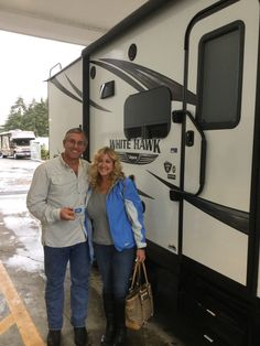 Congrats to Ron and a Tammy on their new Whitehawk Jayco RVs #valleyrvsupercenter