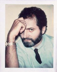 Gianni Versace by Andy Warhol from his Celebrity Polaroid Series...