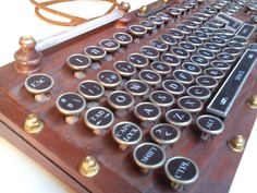 Another excellent Steampunk Keyboard instructable