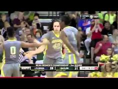 Brittney Griner dunks in Baylor's NCAA tournament game (Video)