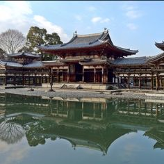 Byo-do-in temple in Uji, Kyoto ... This is a picture designed on the backside of ten yen coin.