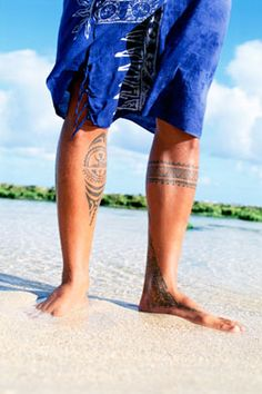 Leg Tattoo Designs for Men